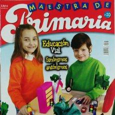 Coleccionismo de Revistas y Periódicos: REVISTA MAESTRA DE PRIMARIA N° 20. Lote 112903076