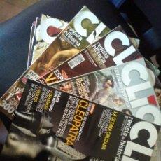 Coleccionismo de Revistas y Periódicos: LOTE DE 22 REVISTAS DE HISTORIA CLIO. Lote 112978483