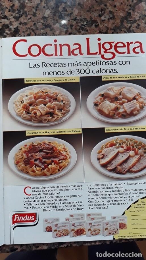 ANUNCIO COCINA LIGERA FINDUS (Coleccionismo - Revistas y Periódicos Modernos (a partir de 1.940) - Otros)