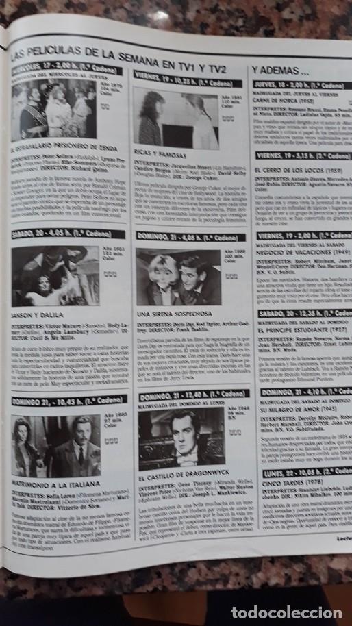 CANDICE BERGEN JACQUELINE BISSET SOFIA LOREN VINCENT PRICE (Coleccionismo - Revistas y Periódicos Modernos (a partir de 1.940) - Otros)