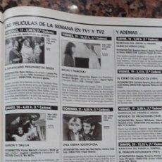 Coleccionismo de Revistas y Periódicos: CANDICE BERGEN JACQUELINE BISSET SOFIA LOREN VINCENT PRICE . Lote 113043719