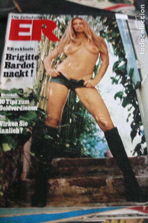 Revista Erotica Alemana Brigitte Bardot Desnuda 1974