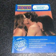 Coleccionismo de Revistas y Periódicos: SUPER 8 EROTICO Nº 3 - EL ASCENSOR - BENI REINA - Mª DEL PILAR MARTINEZ - CALENDARIO 1978. Lote 113116207