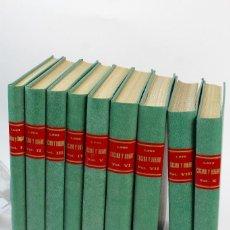 Coleccionismo de Revistas y Periódicos: L-3167. REVISTA COCINA Y HOGAR . 8 TOMOS Nº1 DE 1963 A Nº 92 DE 1970. 8 AÑOS COMPLETOS. ENCUADERNADO. Lote 113163639