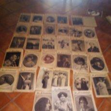 Coleccionismo de Revistas y Periódicos: LOTE 33 REVISTAS LA ACTUALIDAD. AÑOS 1911/13. Lote 113240051