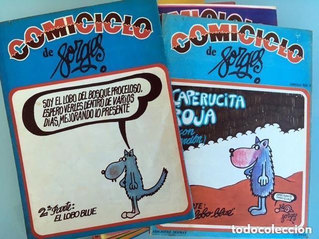 Coleccionismo de Revistas y Periódicos: Comiciclo (del 1 al 27. Completa) Ed Sedmay: Forges, Chumy Chumez, Pablo, Mingote, Serafín, El Cubri - Foto 3 - 113244047