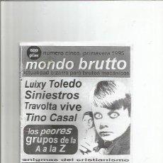 Coleccionismo de Revistas y Periódicos: MONDO BRUTTO 5. Lote 113248031