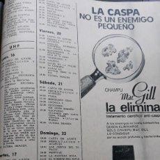 Coleccionismo de Revistas y Periódicos: ANUNCIO CHAMPU MACGILL. Lote 113287799