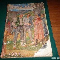 Coleccionismo de Revistas y Periódicos: VIDA VASCA Nº 31, 1954. Lote 113298735