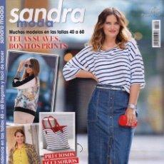 Coleccionismo de Revistas y Periódicos: SANDRA MODA N. 30 - MODELOS EN LAS TALLAS 40 A 60 (NUEVA). Lote 172022388