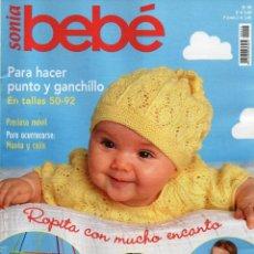 Coleccionismo de Revistas y Periódicos: SONIA BEBE N. 99 - PARA HACER PUNTO Y GANCHILLO EN TALLAS 50-92 (NUEVA). Lote 113316375