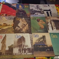 Coleccionismo de Revistas y Periódicos: LOTE 17 REVISTAS CLARIN LITERATURA AÑOS 90. Lote 113337350