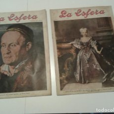 Coleccionismo de Revistas y Periódicos: REVISTA LA ESFERA. Lote 113503263