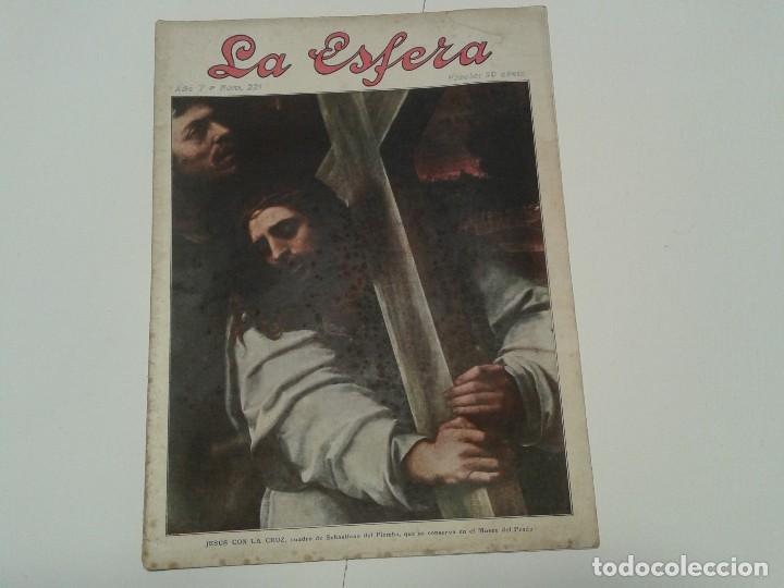 Coleccionismo de Revistas y Periódicos: Revista LA ESFERA - Foto 2 - 113503263