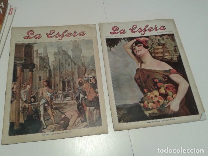 Coleccionismo de Revistas y Periódicos: Revista LA ESFERA - Foto 3 - 113503263