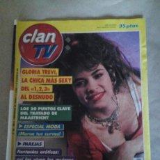 Coleccionismo de Revistas y Periódicos: CLAN TV -N 304- 5 AL 11 DICIEMBRE 1992 - GLORIA TREVI - UN, DOS, TRES --REFGIMHAULBOCAJORMIR. Lote 113513819