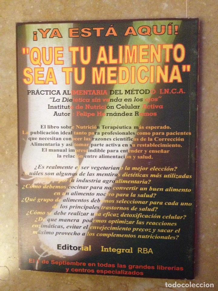 Coleccionismo de Revistas y Periódicos: Info - INCA Nº 6 (nutricion y medicina ortomolecular, nutricion celular activa, dietoterapia) - Foto 4 - 113535719