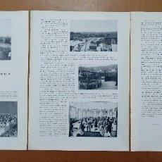 Coleccionismo de Revistas y Periódicos: REPORTAJE SOBRE LA FONT DEL LLEO RESTAURANTE BARCELONA 1928 PUBLICIDAD DE EPOCA. Lote 113569243