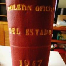 Coleccionismo de Revistas y Periódicos: TOMO MES DE AGOSTO BOLETIN OFICIAL DE ESTADO (BOE AÑO 1947). Lote 113592003