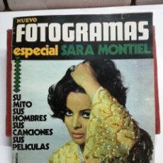 Coleccionismo de Revistas y Periódicos: REVISTA NUEVO FOTOGRAMAS 1971 PORTADA ESPECIAL SARA MONTIEL. Lote 113592631
