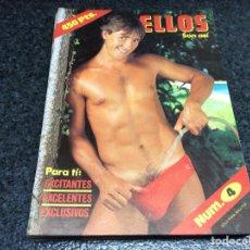 Coleccionismo de Revistas y Periódicos: ELLOS SON ASI Nº 4 - REVISTA GAY AÑOS 90. Lote 113615551