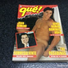 Coleccionismo de Revistas y Periódicos: QUE ¿ TE VA ? Nº 14 - REVISTA GAY AÑOS 90. Lote 113616403