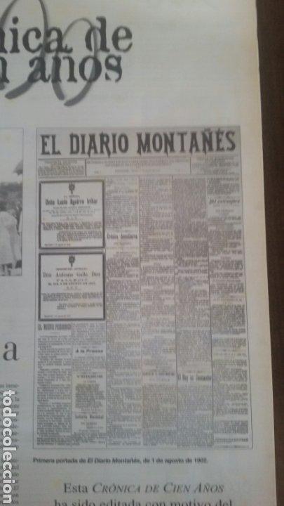 Coleccionismo de Revistas y Periódicos: Crónica de 100 años del diario montañés - Foto 5 - 113649784