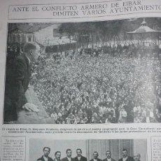Coleccionismo de Revistas y Periódicos: AÑOS 20. CONFLICTO ARMERO DE EIBAR. Lote 113774195