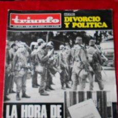Coleccionismo de Revistas y Periódicos: REVISTA TRIUNFO NÚMERO 600 MARZO 1974. Lote 113775423