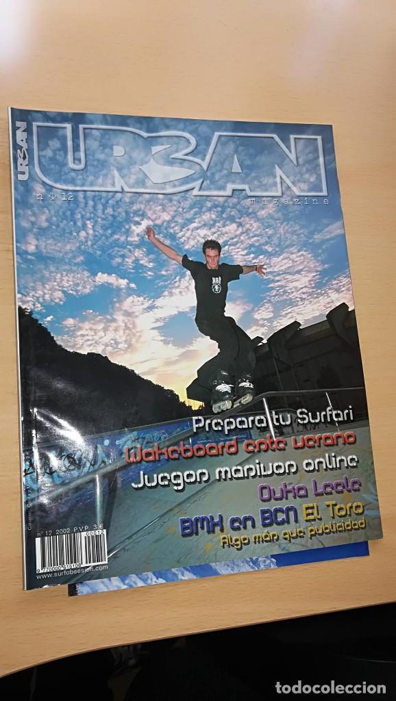 Revista Urban Magazine nº 12 Wakeboard bmx en barcelona el toro segunda mano