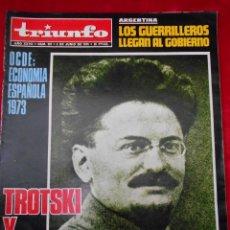 Coleccionismo de Revistas y Periódicos: REVISTA TRIUNFO NÚMERO 557 JUNIO 1973. Lote 113781327