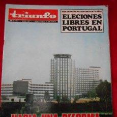 Coleccionismo de Revistas y Periódicos: REVISTA TRIUNFO NÚMERO 657 MAYO 1975. Lote 113785643