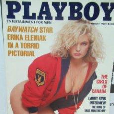 Coleccionismo de Revistas y Periódicos: REVISTA PLAYBOY INGLES. AGOSTO 1990 TIENE POSTER GIRLS OF CANADA. Lote 113816623