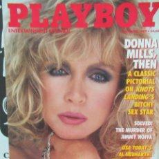 Coleccionismo de Revistas y Periódicos: REVISTA PLAYBOY INGLES.NOVIEMBRE 1989 TIENE POSTER DONNA MILLS. Lote 113817847