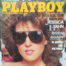 Coleccionismo de Revistas y Periódicos: REVISTA PLAYBOY INGLES. NOVIEMBRE 1987 TIENE POSTER JESSICA HAHN KELLY MC GILLIS DANIEL ORTEGA. Lote 113818211