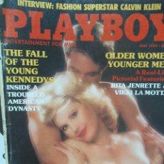 Coleccionismo de Revistas y Periódicos: REVISTA PLAYBOY INGLES. MAYO 1984 TIENE POSTER OLA RAY VIKKI LA MOTTA. Lote 113819839