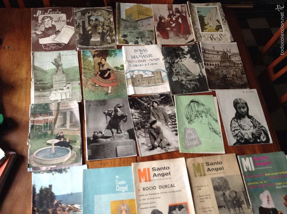 REVISTA TRIMESTRAL MI SANTO ÁNGEL (Coleccionismo - Revistas y Periódicos Modernos (a partir de 1.940) - Otros)