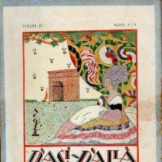 Coleccionismo de Revistas y Periódicos: REVISTA D'ACÍ D'ALLÀ DEDICAT A LA GUERRA 1914 - 1919 - EN CATALÁN. Lote 113921503