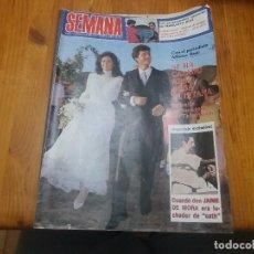 Coleccionismo de Revistas y Periódicos: ANTIGUA REVISTA SEMANA AÑO 1983 N° 2274 ANA ROSA QUINTANA. Lote 114002751