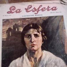 Coleccionismo de Revistas y Periódicos: REVISTA LA ESFERA MAYO 1917. Lote 114169367