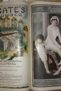 1917 The Ladies Home Journal. 6 revistas encuadernadas. 630 páginas.