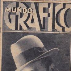 Coleccionismo de Revistas y Periódicos: MUNDO GRAFICO 29 ABRIL 1931 . Lote 114429483