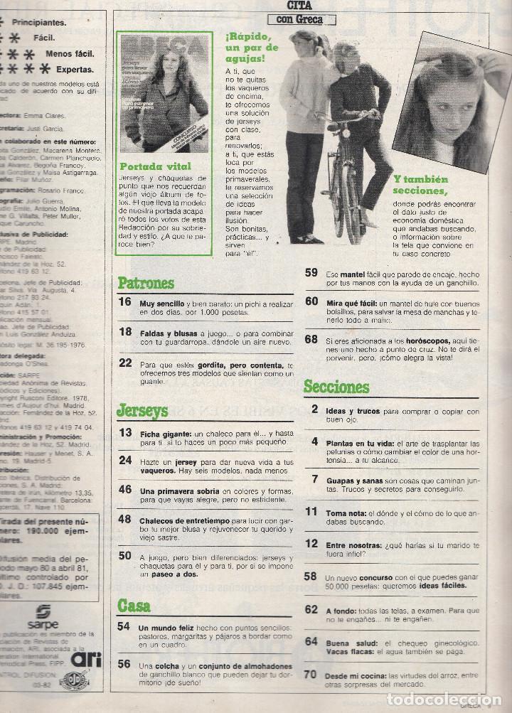 revista greca nº 59. punto: jerseys. ganchillo - Comprar Otras ...