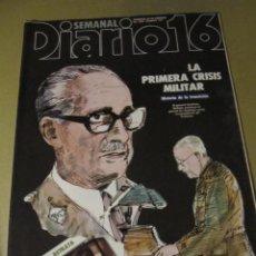 Coleccionismo de Revistas y Periódicos: DIARIO 16 SEMANAL FEBRERO 1984 JESUS HERMIDA PILAR MIRO . Lote 114600815