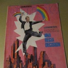 Coleccionismo de Revistas y Periódicos: DIARIO 16 SEMANAL FEBRERO 1984 CARMEN ELIAS . Lote 114601307