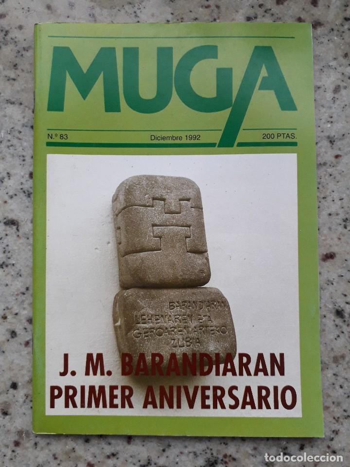 MUGA Nº 83 DIC 1992. ESPECIAL JOSE MIGUEL DE BARANDIARAN. URTAIN. FESTIVAL DE CINE DE SAN SEBASTIAN (Coleccionismo - Revistas y Periódicos Modernos (a partir de 1.940) - Otros)