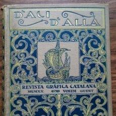 Coleccionismo de Revistas y Periódicos: D'ACÍ D'ALLÀ VOLUM QUINT. PRIMER SEMESTRE DE 1920. Lote 114683459