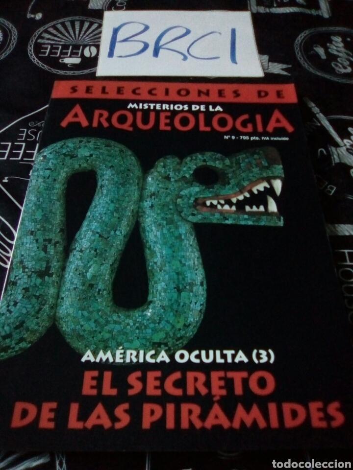 SELECCIONES DE MISTERIOS DE LA ARQUEOLOGÍA NÚMERO 9 SECRETO PIRÁMIDES (Coleccionismo - Revistas y Periódicos Modernos (a partir de 1.940) - Otros)