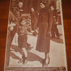 Coleccionismo de Revistas y Periódicos: REVISTA FOTOS, 24 DE JULIO DE 1939, LOS NIÑOS DE ESPAÑA VUELVEN A SUS CASAS. Lote 114743559