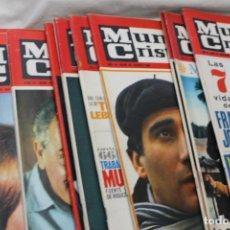 Coleccionismo de Revistas y Periódicos: LOTE 14 REVISTAS MUNDO CRISTIANO, 1965. Lote 114910811